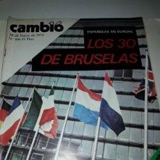 Coleccionismo de Revista Cambio 16: REVISTA CAMBIO 16 N 166 1975. Lote 178329093
