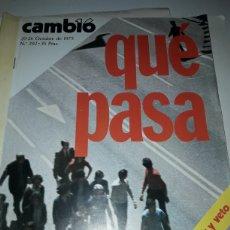 Coleccionismo de Revista Cambio 16: CAMBIO 16 REVISTA N 202 1975. Lote 178329222