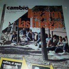 Coleccionismo de Revista Cambio 16: REVISTA CAMBIO 16 N 161 1974. Lote 178329376