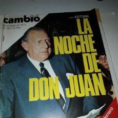 Coleccionismo de Revista Cambio 16: CAMBIO 16 REVISTA N 185 1975. Lote 178329506