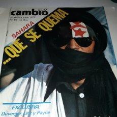 Coleccionismo de Revista Cambio 16: REVISTA CAMBIO 16 N 181 1975. Lote 178329726