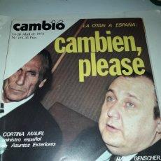 Coleccionismo de Revista Cambio 16: REVISTA CAMBIO 16 N 175 1975. Lote 178329786