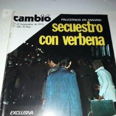 Coleccionismo de Revista Cambio 16: REVISTA CAMBIO 16 N 198 1975. Lote 178329972