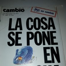 Coleccionismo de Revista Cambio 16: CAMBIO 16 REVISTA N 209 1975. Lote 178330198