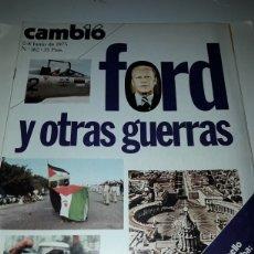 Coleccionismo de Revista Cambio 16: CAMBIO 16 REVISTA N 182 1975. Lote 178330313