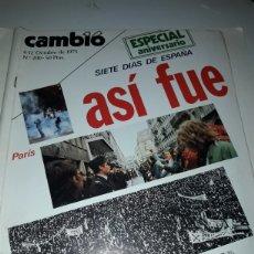 Coleccionismo de Revista Cambio 16: CAMBIO 16 REVISTA N 200 1975. Lote 178330406