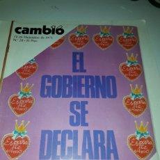 Coleccionismo de Revista Cambio 16: CAMBIO 16 REVISTA N 211 1975. Lote 178330537