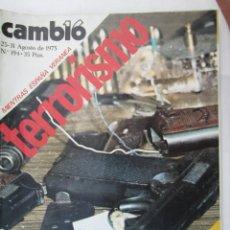 Coleccionismo de Revista Cambio 16: CAMBIO 16 REVISTA Nº 194 25-08-1975 MIENTRAS ESPAÑA VERANEA TERRORISMO . Lote 180202116