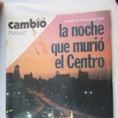 Coleccionismo de Revista Cambio 16: CAMBIO 16 REVISTA Nº 284 16-05-1977 SUAREZ SE QUEDA CON TODO , LA NOCHE QUE MURIO EL CENTRO. Lote 180202648