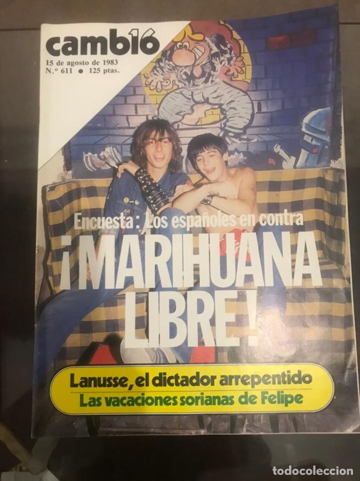 Coleccionismo de Revista Cambio 16: LOTE DE 4 REVISTAS CAMBIO 16 - Foto 4 - 182134562