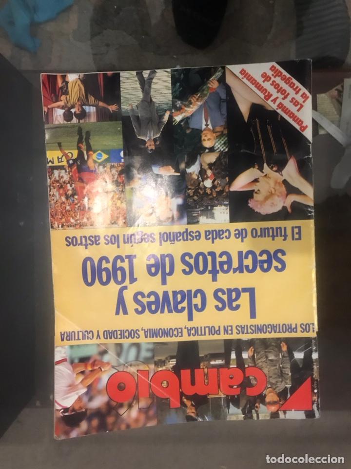 Coleccionismo de Revista Cambio 16: LOTE DE 4 REVISTAS CAMBIO 16 - Foto 8 - 182134562
