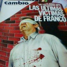 Coleccionismo de Revista Cambio 16: REVISTA CAMBIO 16 Nº 721 23.30 DE SEPTIEMBRE 1985. Lote 183292691