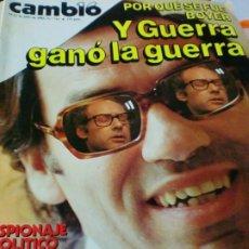 Coleccionismo de Revista Cambio 16: REVISTA CAMBIO 16 Nº 711 15-22 DE JULIO 1985. Lote 183292953