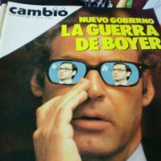 Coleccionismo de Revista Cambio 16: REVISTA CAMBIO 16 Nº 710 8-15 DE JULIO 1985. Lote 183293056