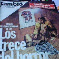Coleccionismo de Revista Cambio 16: REVISTA CAMBIO 16 Nº 578 27 DE DICIEMBRE 1982. Lote 183293142