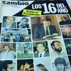 Coleccionismo de Revista Cambio 16: REVISTA CAMBIO 16 Nº 579 3 DE ENERO 1983. Lote 183293263