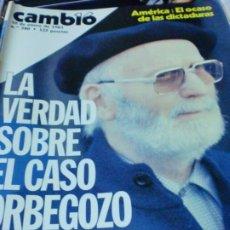 Coleccionismo de Revista Cambio 16: REVISTA CAMBIO 16 Nº 580 10 DE ENERO DE 1983. Lote 183293375