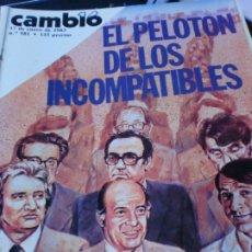 Coleccionismo de Revista Cambio 16: REVISTA CAMBIO 16 Nº 581 17 DE ENERO DE 1983. Lote 183293725