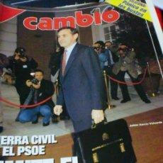 Coleccionismo de Revista Cambio 16: REVISTA CAMBIO 16 Nº 1052 20 DE ENERO 1992. Lote 183293838