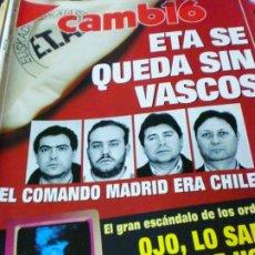 Coleccionismo de Revista Cambio 16: REVISTA CAMBIO 16 Nº 1053 27 DE ENERO 1992. Lote 183293898