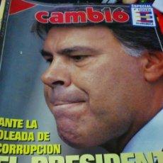 Coleccionismo de Revista Cambio 16: REVISTA CAMBIO 16 Nº 1054 13 DE FEBRERO 1992. Lote 183293961