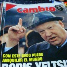 Coleccionismo de Revista Cambio 16: REVISTA CAMBIO 16 Nº 1050 6 DE ENERO 1992. Lote 183296198