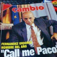 Coleccionismo de Revista Cambio 16: REVISTA CAMBIO 16 Nº 1051 13 DE ENERO 1992. Lote 183296281