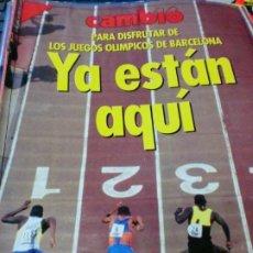 Coleccionismo de Revista Cambio 16: REVISTA CAMBIO 16 Nº 1078 20 DE JULIO 1992. Lote 183296507