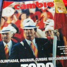 Coleccionismo de Revista Cambio 16: REVISTA CAMBIO 16 Nº 1080 3 DE AGOSTO 1992. Lote 183296931