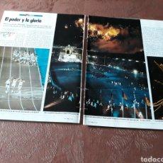 Coleccionismo de Revista Cambio 16: REPORTAJE DE LAS OLIMPIADAS DE BARCELONA 92 - 18 PÁGINAS - REVISTA DE AGOSTO DE 1992. Lote 183821232