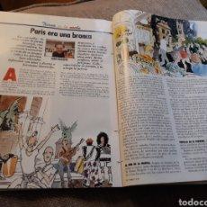 Coleccionismo de Revista Cambio 16: REPORTAJE DE PARIS DEL AÑO 1992 POR JUAN BALLESTA - 6 PAGINAS. Lote 183827428