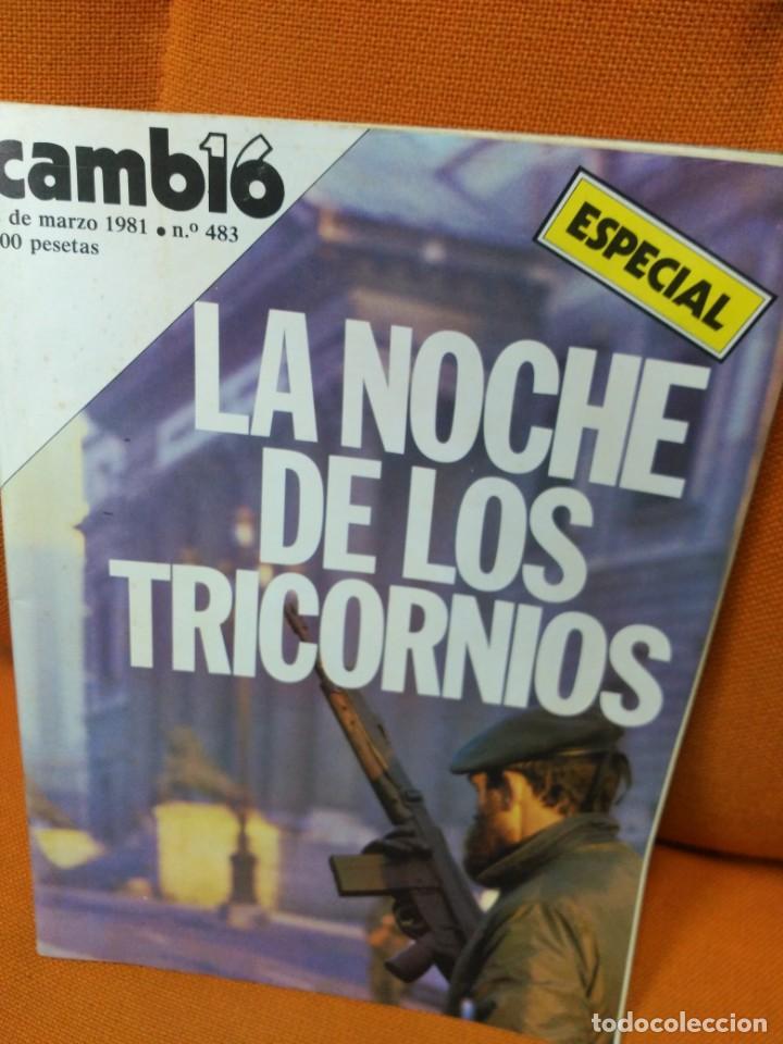 REVISTA CAMB16 - 2 DE MARZO DE 1981 (Coleccionismo - Revistas y Periódicos Modernos (a partir de 1.940) - Revista Cambio 16)