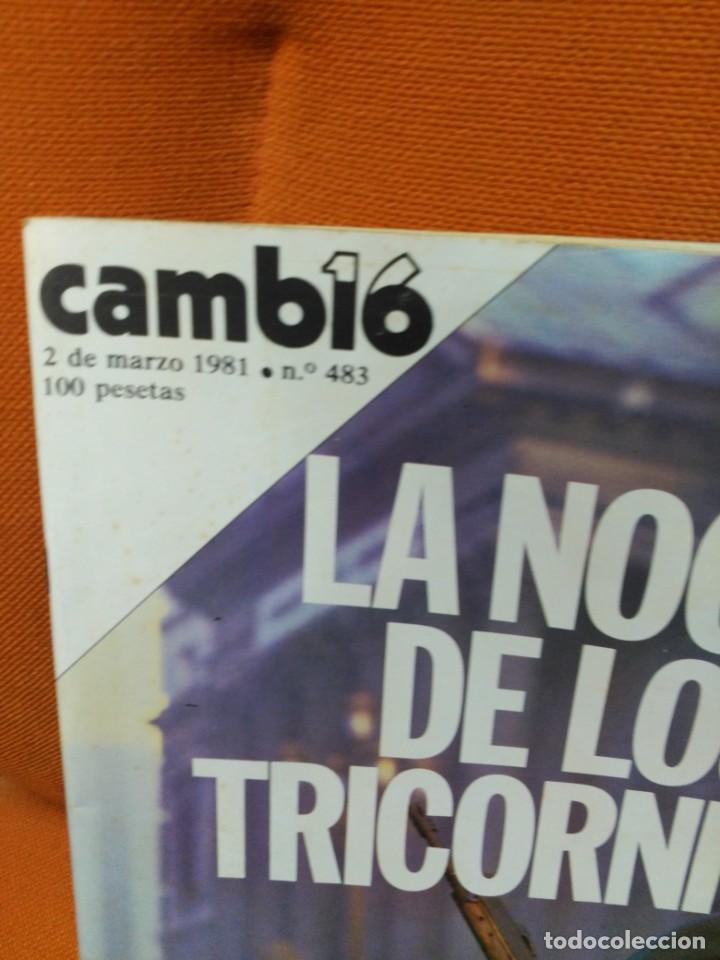Coleccionismo de Revista Cambio 16: Revista Camb16 - 2 de marzo de 1981 - Foto 2 - 183827815