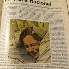 Coleccionismo de Revista Cambio 16: REPORTAJE DEL INCENDIO DE LA DISCOTECA ALCALÁ 20 DE MADRID - 5 PAGINAS AÑO 1983. Lote 184151640