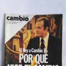 Coleccionismo de Revista Cambio 16: CAMBIO 16 N° 320. Lote 184373211