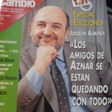 Coleccionismo de Revista Cambio 16: REVISTA CAMBIO 16 N° 1475 - ESPECIAL ELECCIONES 12M - MARZO DE 2000. Lote 184785951