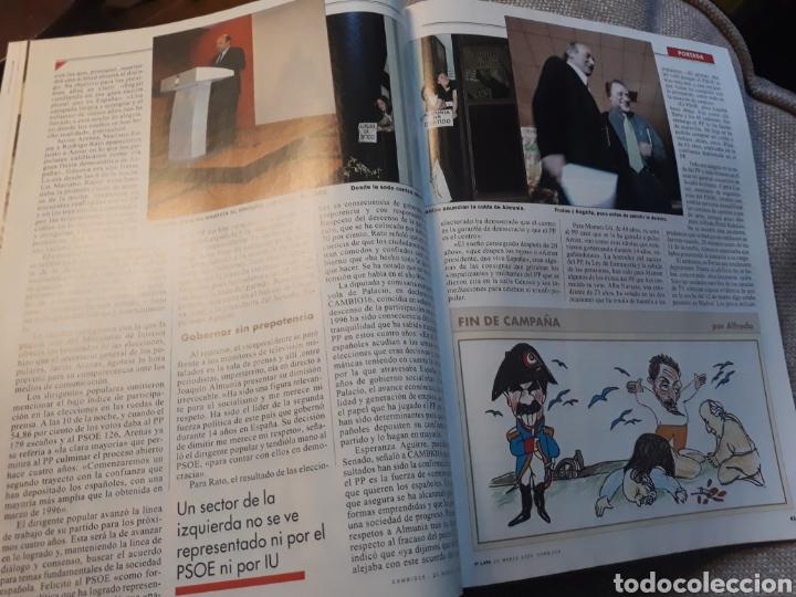 Coleccionismo de Revista Cambio 16: REVISTA CAMBIO 16 N° 1476 - ELECCIONES DEL 12 DE MARZO DE 2000. AZNAR ARRASA. - Foto 2 - 184787675