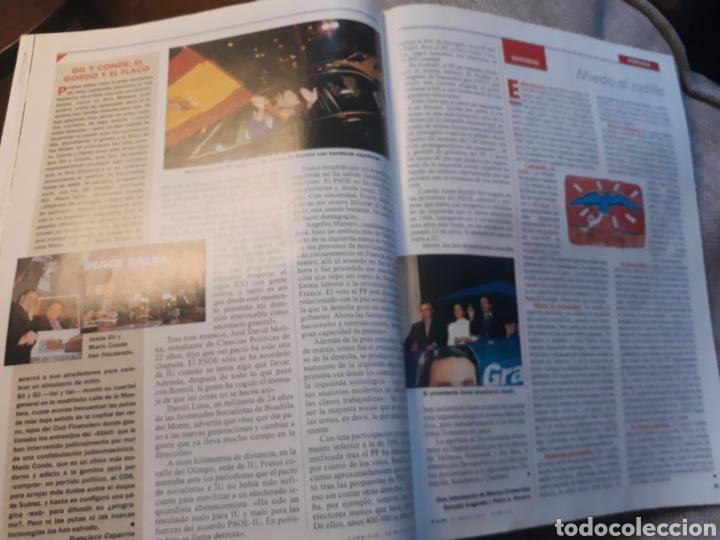 Coleccionismo de Revista Cambio 16: REVISTA CAMBIO 16 N° 1476 - ELECCIONES DEL 12 DE MARZO DE 2000. AZNAR ARRASA. - Foto 3 - 184787675