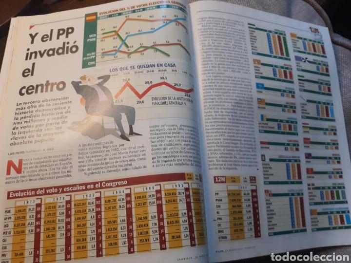 Coleccionismo de Revista Cambio 16: REVISTA CAMBIO 16 N° 1476 - ELECCIONES DEL 12 DE MARZO DE 2000. AZNAR ARRASA. - Foto 4 - 184787675