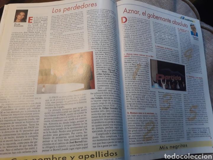 Coleccionismo de Revista Cambio 16: REVISTA CAMBIO 16 N° 1476 - ELECCIONES DEL 12 DE MARZO DE 2000. AZNAR ARRASA. - Foto 5 - 184787675