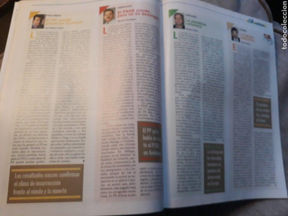 Coleccionismo de Revista Cambio 16: REVISTA CAMBIO 16 N° 1476 - ELECCIONES DEL 12 DE MARZO DE 2000. AZNAR ARRASA. - Foto 6 - 184787675