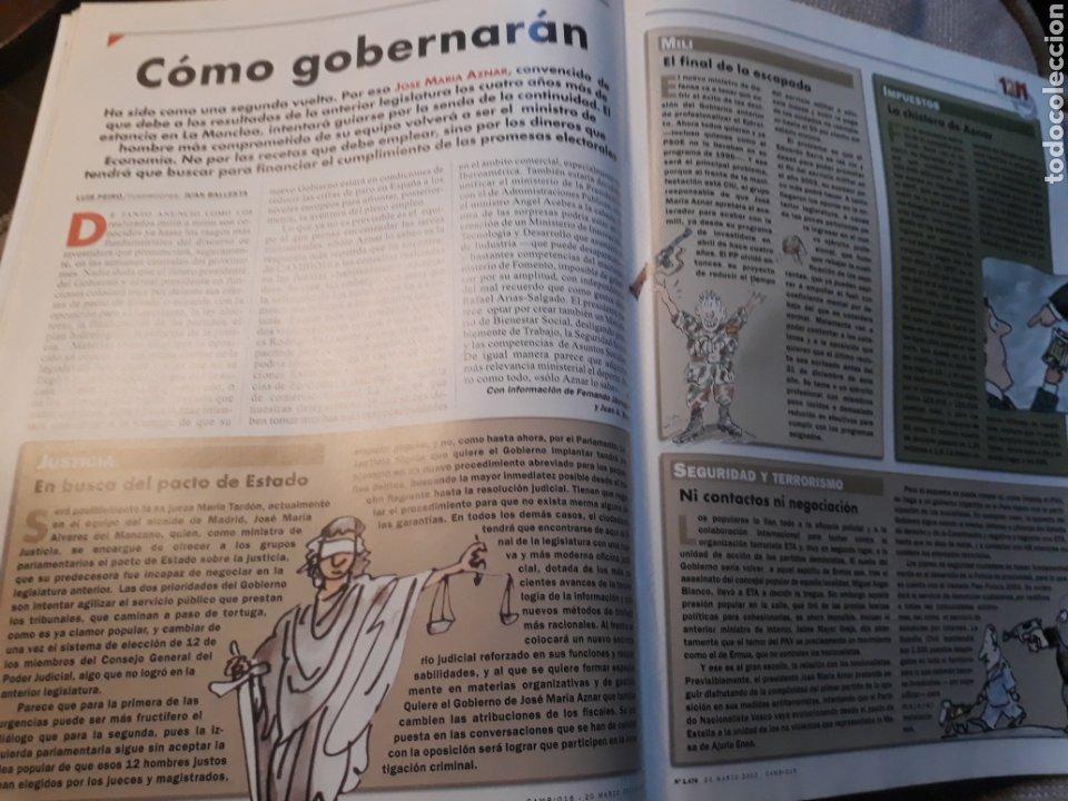Coleccionismo de Revista Cambio 16: REVISTA CAMBIO 16 N° 1476 - ELECCIONES DEL 12 DE MARZO DE 2000. AZNAR ARRASA. - Foto 7 - 184787675