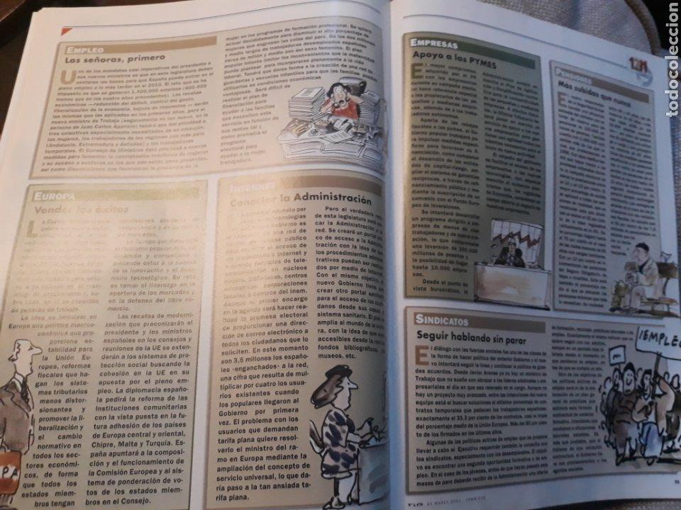 Coleccionismo de Revista Cambio 16: REVISTA CAMBIO 16 N° 1476 - ELECCIONES DEL 12 DE MARZO DE 2000. AZNAR ARRASA. - Foto 8 - 184787675