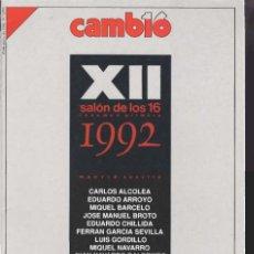 Coleccionismo de Revista Cambio 16: CAMBIO16 Nº 1070 DE 25 DE MAYO 1992 44 PG REVISTA SALÓN DE LOS 16 (MADRID SEVILLA). Lote 187333225