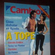 Coleccionismo de Revista Cambio 16: CAMBIO 16 -AGOSTO 1994 Nº 1185- JOSE BONO- CARLOS GRANADOS-ARANTXA VICARIO-ROMAN POLANSKI. Lote 190229400