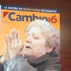 Collezionismo di Rivista Cambio 16: CAMBIO 16 - 1994- JMAYO Nº 1172 - AMPARO CUEVAS- ROBERT DE NIRO- POSTER LUIS ROLDAN. Lote 190338866