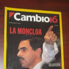 Collezionismo di Rivista Cambio 16: CAMBIO 16 - 1994- JUNIO Nº 1178 - JULIO ANGUITA - JAVIER CLEMENTE- CARLOS ANDRES PEREZ- MUNDIAL 94. Lote 190339238