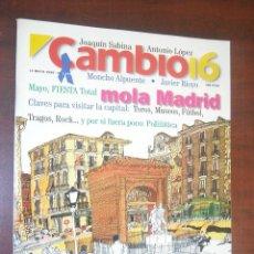 Collezionismo di Rivista Cambio 16: CAMBIO 16 -1996 -MAYO Nº 1277- CLAUDIA CARDINALE- MADRID MEMOLA. Lote 190347442