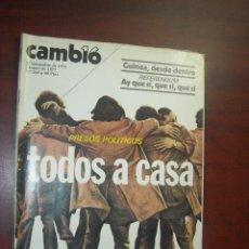 Collezionismo di Rivista Cambio 16: CAMBIO 16 -AÑO 1976 Nº 264 - PRESOS POLITICOS TODOS A CASA- . Lote 190416742