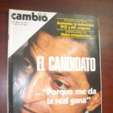 Collectionnisme de Magazine Cambio 16: CAMBIO 16 -AÑO 1977 Nº 283 - MONTEJURRA 76- SUAREZ. Lote 190417107